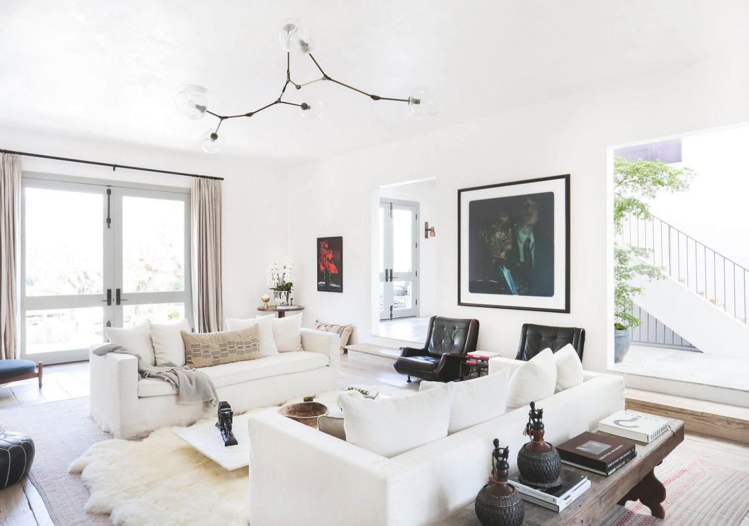 Achieving The 'effortless Expensive' Style: Furniture inside Casual Living Room Furniture