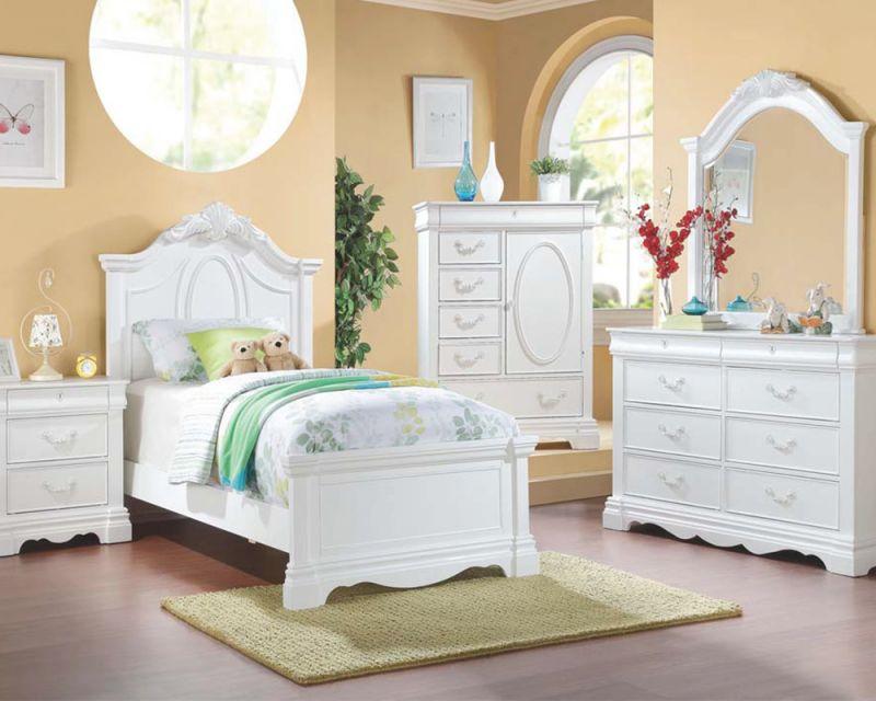 Acme Girl's Bedroom Set Estrella Ac30240Set intended for Lovely Bedroom Set Girl