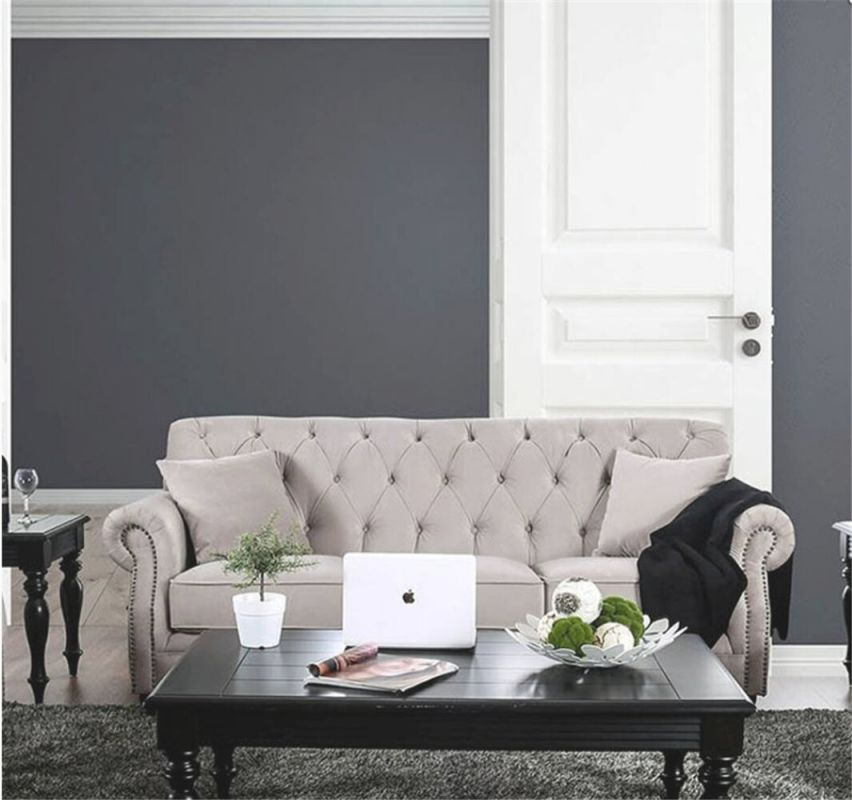 Alexys Modern Victorian Sofa in Unique Victorian Living Room Furniture