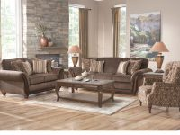 Ansel Park Brown 8 Pc Living Room inside New Traditional Living Room Furniture