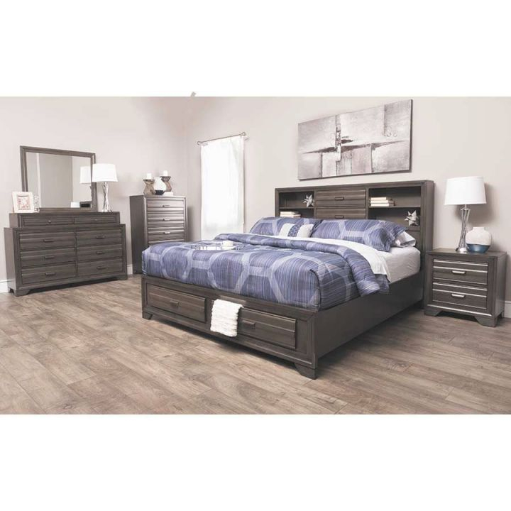 Antique Grey 5 Piece Bedroom Set throughout Awesome Bedroom Set Grey