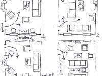 Arranging Furniture Twelve Different Ways In The Same Room inside Elegant Arranging Living Room Furniture
