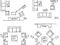 Arranging Living Room Furniture, So Sofas Talk To Chairs in Elegant Arranging Living Room Furniture