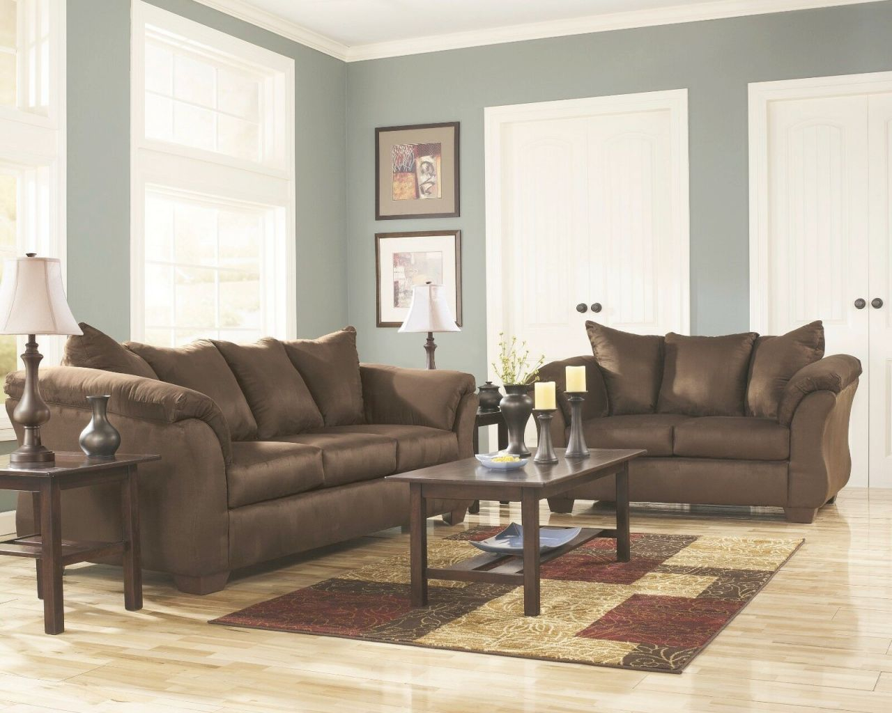 Ashley Furniture Darcy Cafe Sofa And