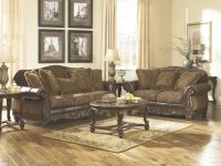 Ashley Furniture Fresco Living Room Set In Antique pertaining to Ashleys Furniture Living Room Sets