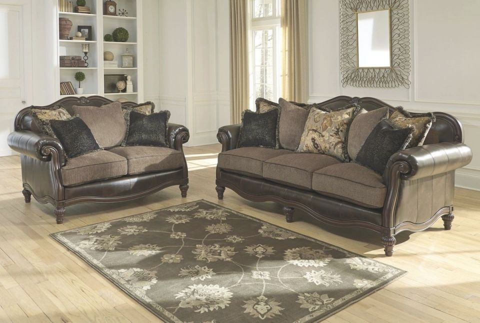 Ashley Furniture Winnsboro Living Room Set In Vintage with regard to Awesome Ashley Living Room Furniture Sets