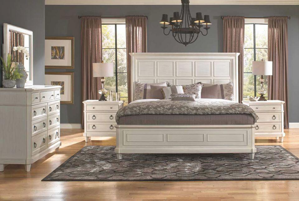 Augusta Ii 5 Piece Queen Bedroom Set inside Bedroom Set Queen