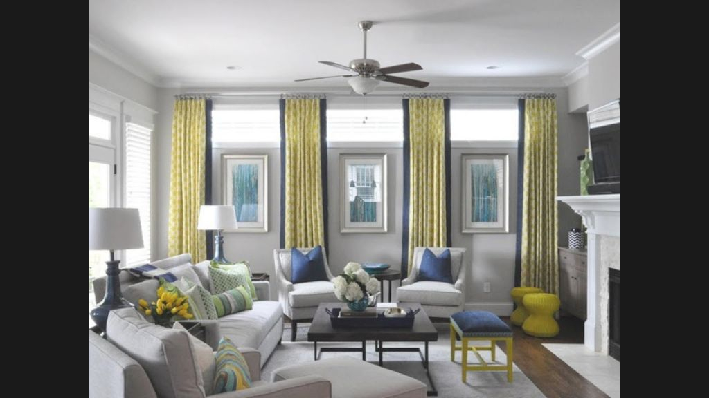 Awesome Window Treatment Ideas For Living Room regarding Window Treatment Ideas For Living Room