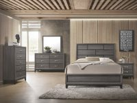 B4620 Akerson Grey Bedroom Set regarding Bedroom Set Grey