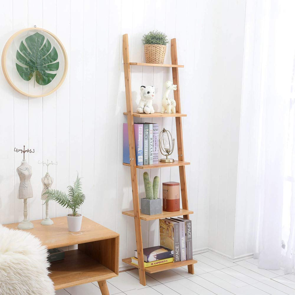 bamboo-leaning-ladder-shelf-for-living-room-bedroom-or-bathroom