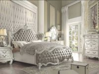 Bedroom : Versailles White Queen Set Sets Furniture pertaining to Bedroom Set Ideas