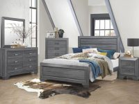 Beechnut Grey 4-Piece Queen Bedroom Set intended for Bedroom Set Grey