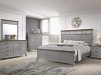 Bellebrooke Panel Bedroom Set (Grey) throughout Bedroom Set Grey