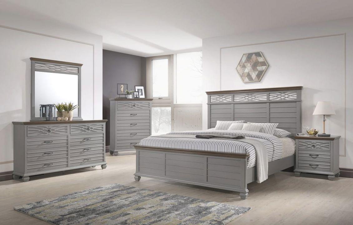 Bellebrooke Panel Bedroom Set (Grey) throughout Bedroom Set Grey