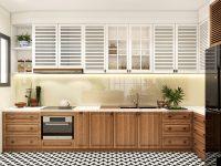 black-and-white-kitchen-floor