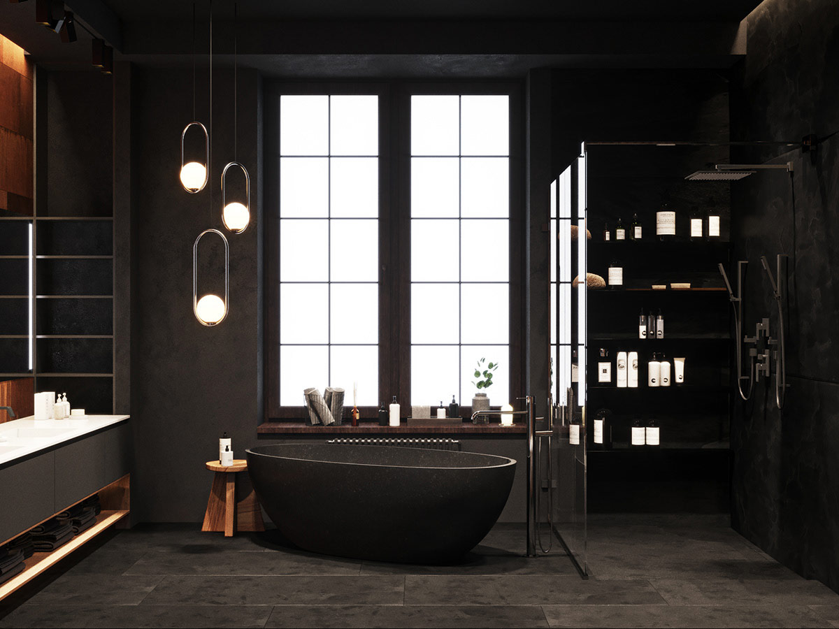black-bath