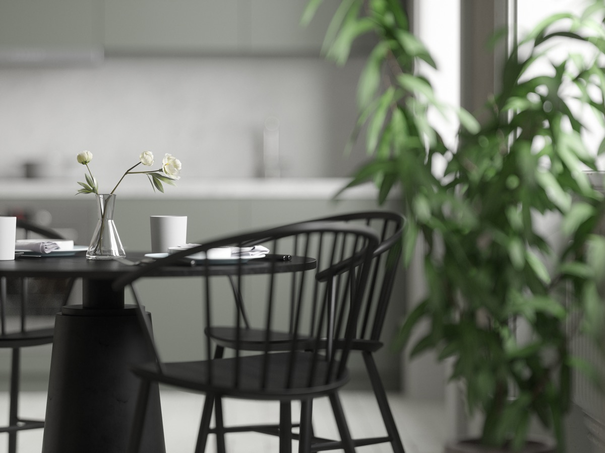 black-dining-chairs