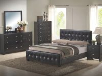 Black Finish Modern Bedroom Set W/queen Size Bed with regard to Luxury Bedroom Set Queen Size