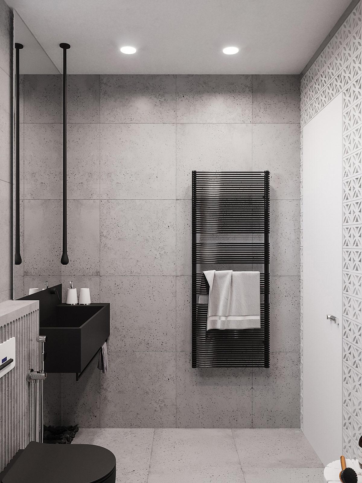 black-towel-heater