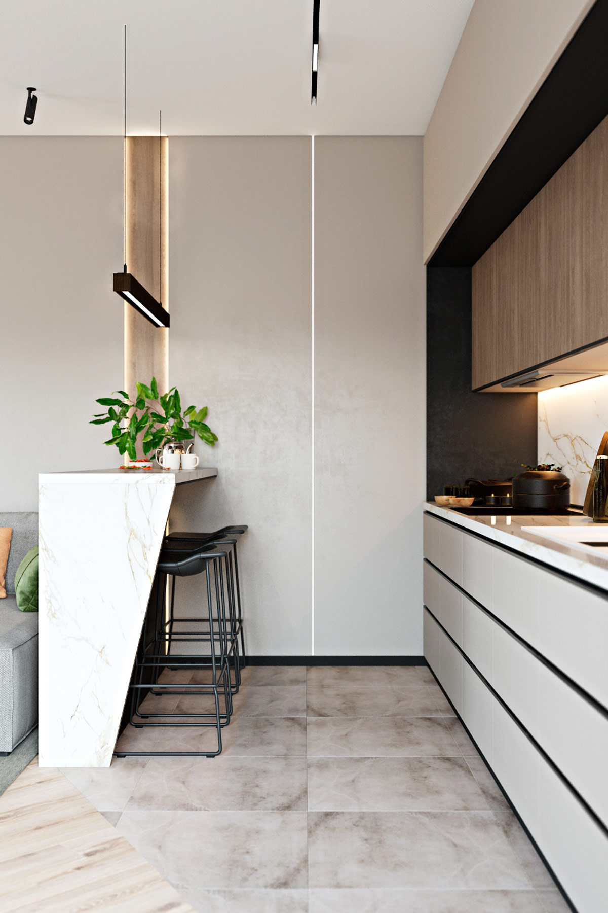 breakfast-nook-inspiration-for-open-concept-one-wall-kitchen-design