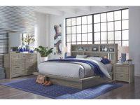 Brownstone Gray 4 Piece Queen Bedroom Set – Modern Loft with regard to Luxury Bedroom Set Modern