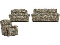 Cambridge Camo 3 Piece Living Set: Sofa, Loveseat, Recliner within Inspirational Camo Living Room Furniture