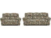 Cambridge Camo Two Piece Living Room Set: Sofa, Loveseat within Camo Living Room Furniture
