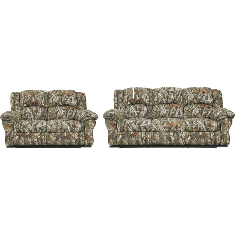 Cambridge Camo Two Piece Living Room Set: Sofa, Loveseat within Camo Living Room Furniture