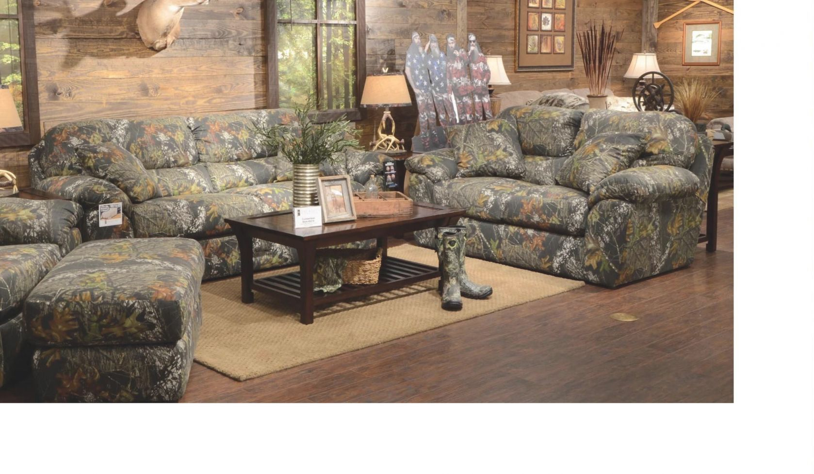 Can You See Me Now? Duck Dynasty Living Room Furniture with regard to Camo Living Room Furniture
