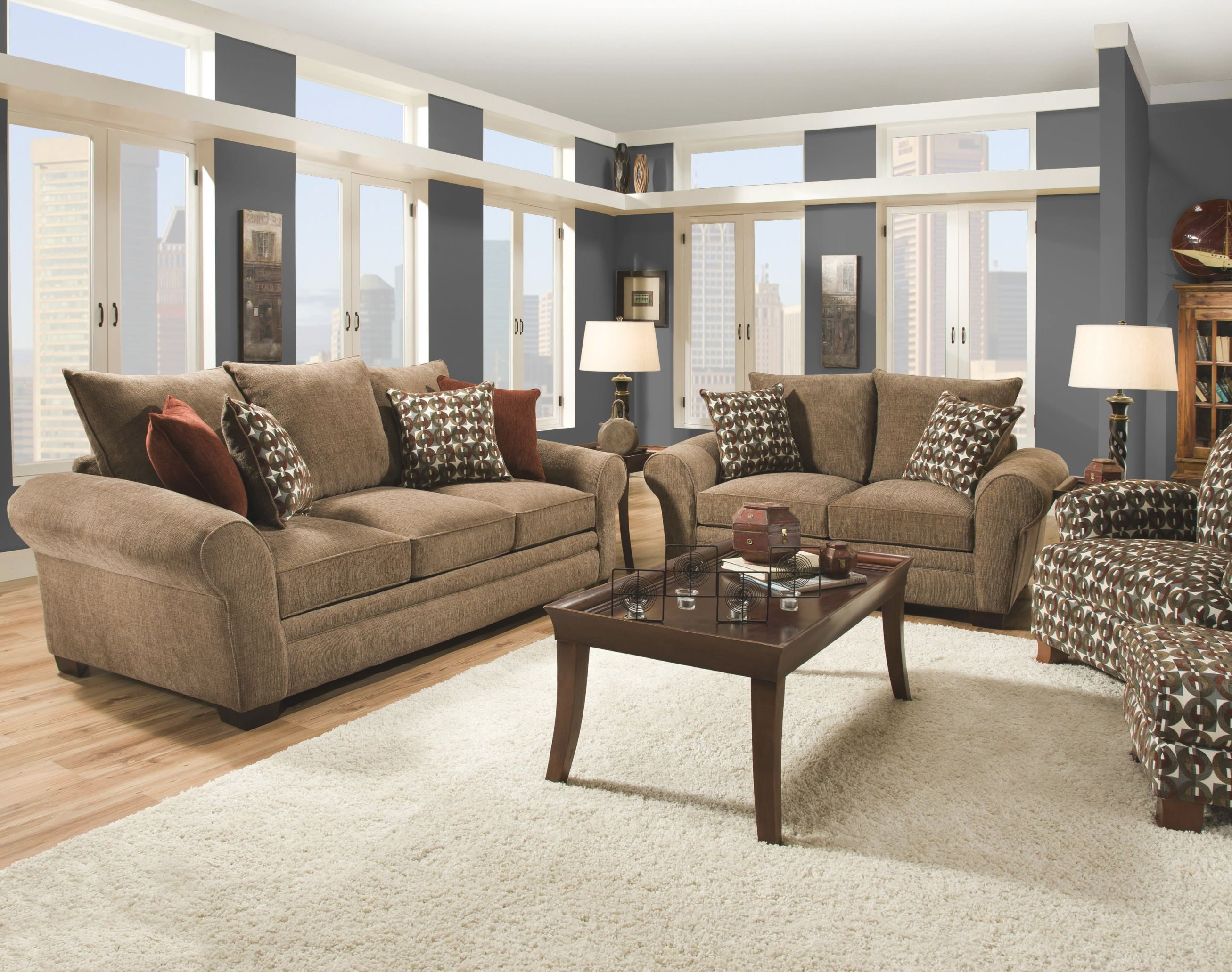 Casual Living Room Furniture At Modern Classic Home Designs