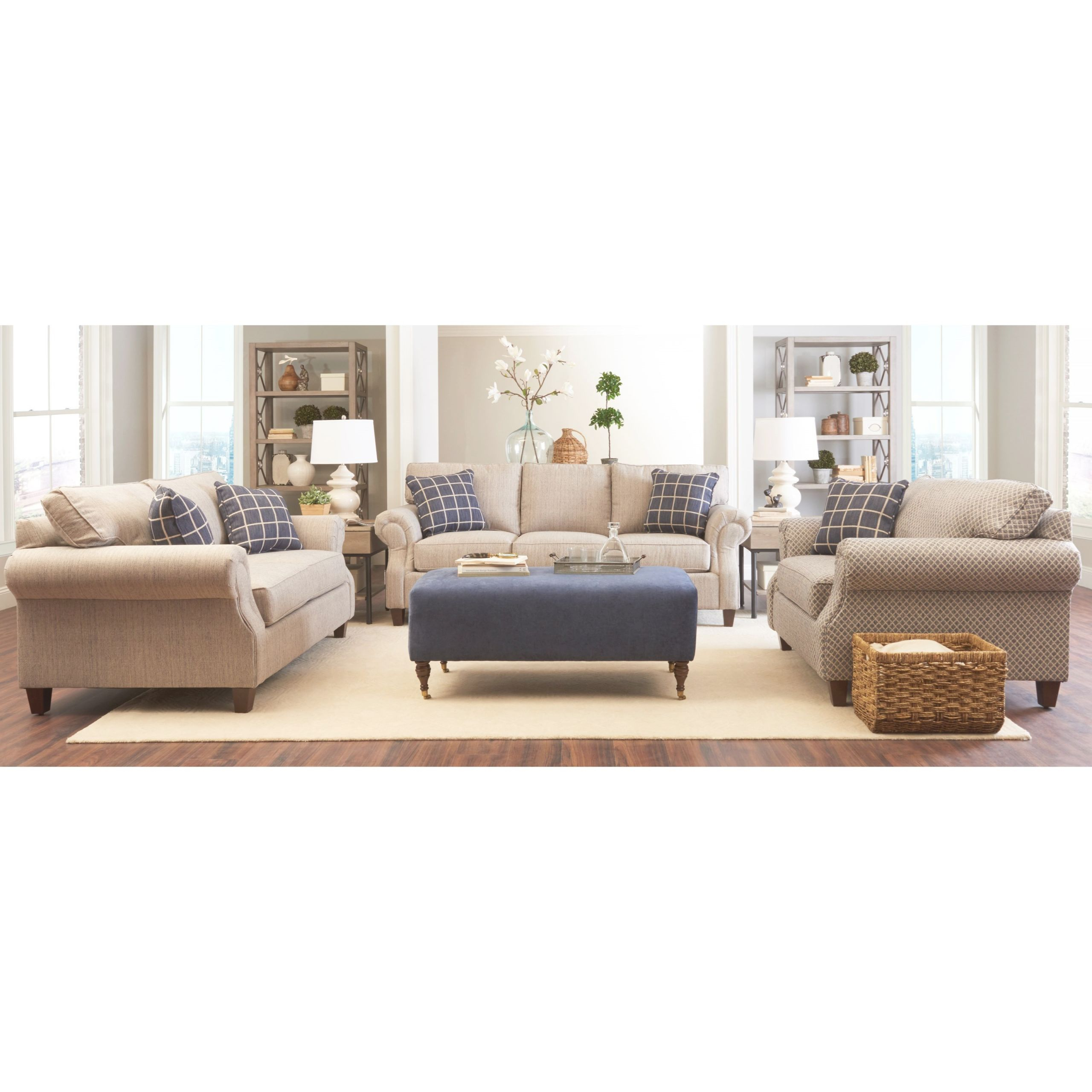 Casual Living Room Groupklaussner | Wolf Furniture in Casual Living Room Furniture