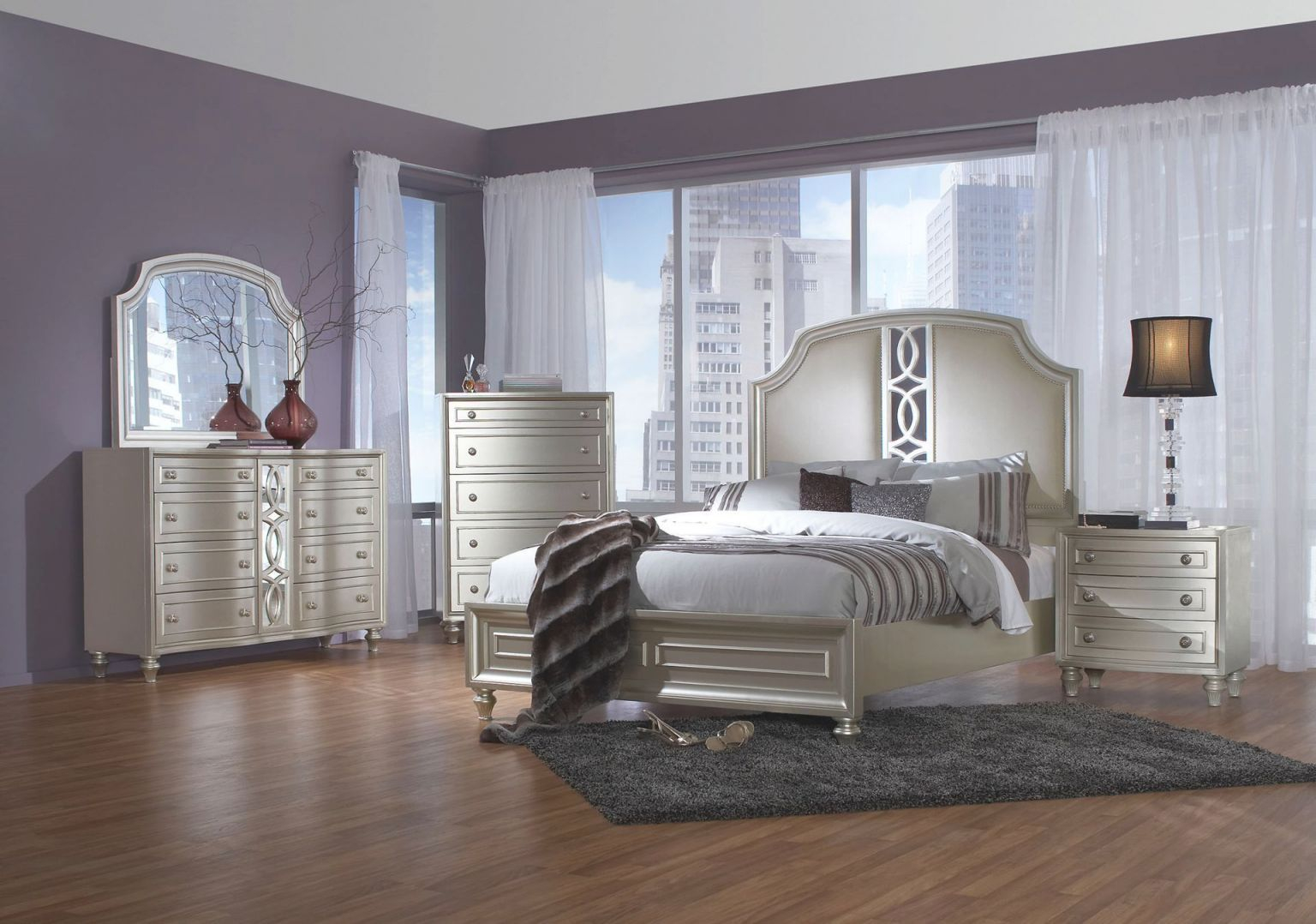Christian Queen Bedroom Set in Bedroom Set Queen Size
