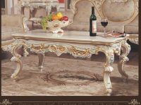 Classic Style Furniture -Solid Wood Table Living Room Furniture intended for Living Room Furniture Tables