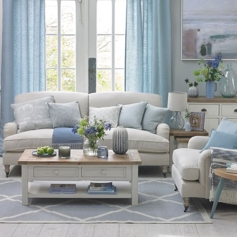 Coastal Living Rooms To Recreate Carefree Beach Days in Inspirational Coastal Living Room Furniture
