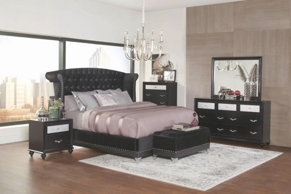 Coaster Barzini 6 Piece Queen Size Bedroom Set within Bedroom Set Queen Size