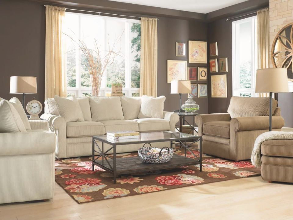 Collins Stationary Living Room Groupla-Z-Boy   Home for New Lazy Boy Living Room Furniture