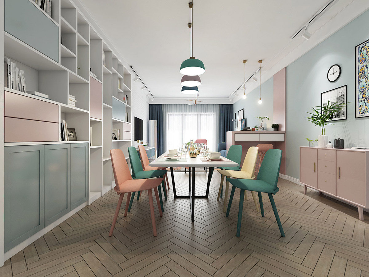 colourful-dining-chairs