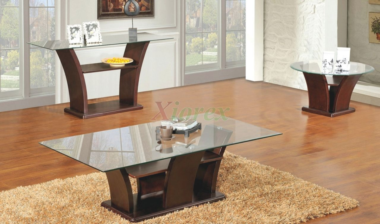 Columba 3 Piece Coffee Table Set With Sofa Console Table intended for Living Room Furniture Tables
