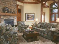 Comfortable Living Room Interior Design With Camouflage Sofa regarding Inspirational Camo Living Room Furniture