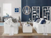 Contemporary Coastal Living | Ethan Allen for Coastal Living Room Ideas