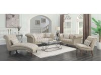Copper Grove Smorgon Beige 3-Piece Tufted Living Room Set pertaining to Tufted Living Room Furniture