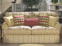 Cottage Floral Sofa. I'm Getting So I Just Adore Sofas pertaining to Floral Living Room Furniture
