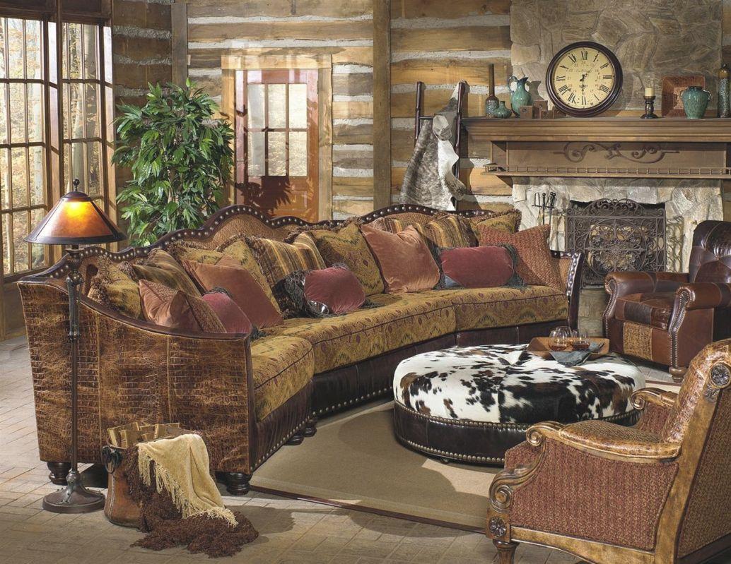 Custom Made Western Furniture Custom Living Room, Western pertaining to Rustic Living Room Furniture