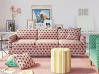 Customizable Furniture Brand The Inside Launches Sofa Line with Floral Living Room Furniture