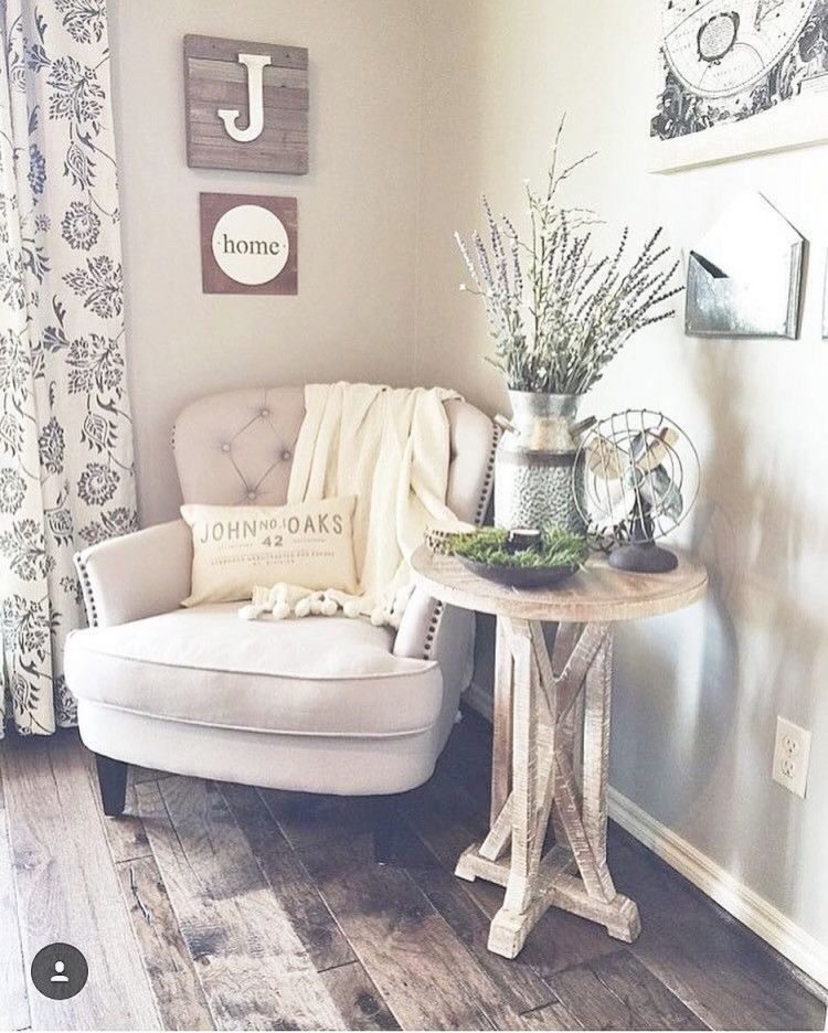 Cute, Cozy Corner. | Future Home | Home Decor, Living Room in Living Room Corner Ideas