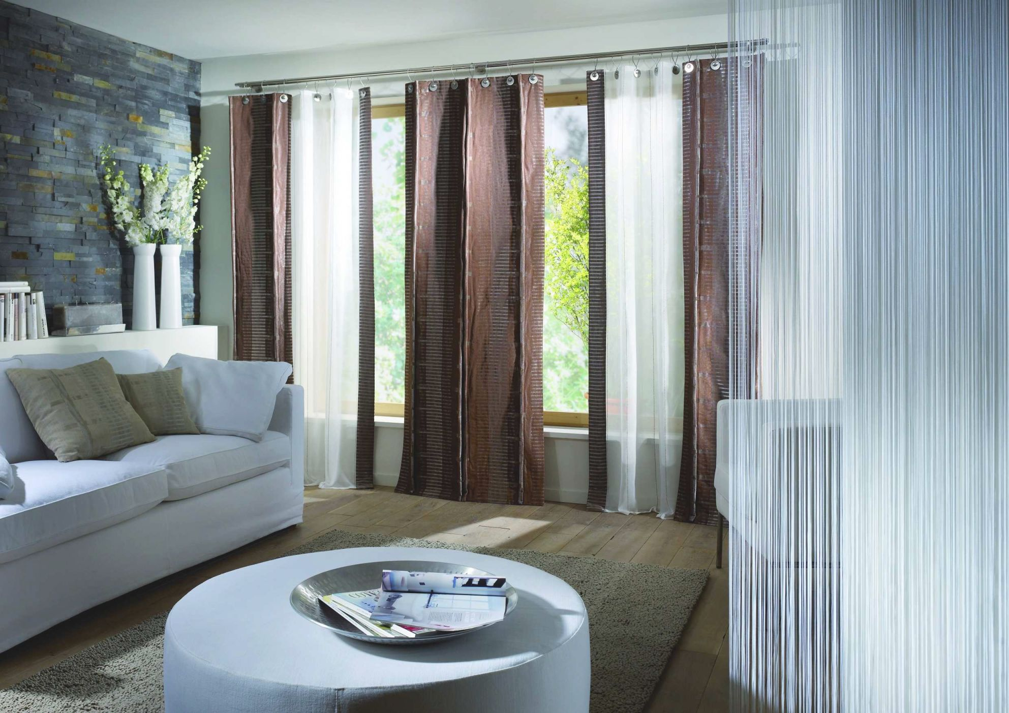 Awesome Living Room Drapes Ideas - Awesome Decors