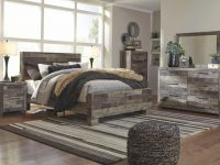 Derekson Multi-Gray Queen Panel Bedroom Set intended for Bedroom Set Queen