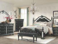 Diana Black Queen Set Queen Size B,2Ns,dr,mr throughout Bedroom Set Queen Black