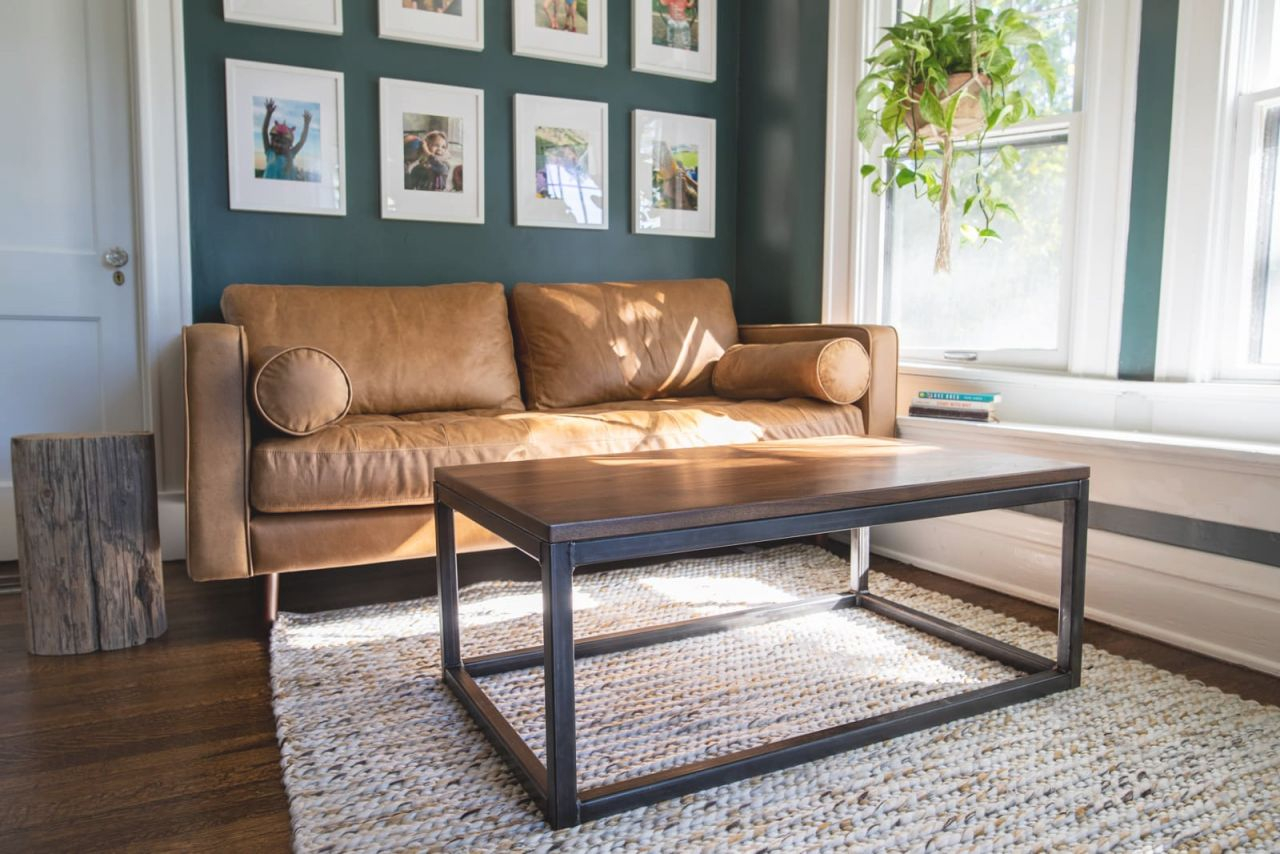 Durham Coffee Table | Modern Metal Coffee Table In Living Room Furniture intended for Awesome Modern Living Room Furniture