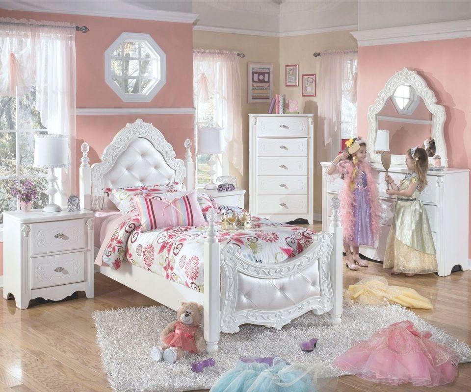 Emilia Full Bedroom Set within Bedroom Set Girl